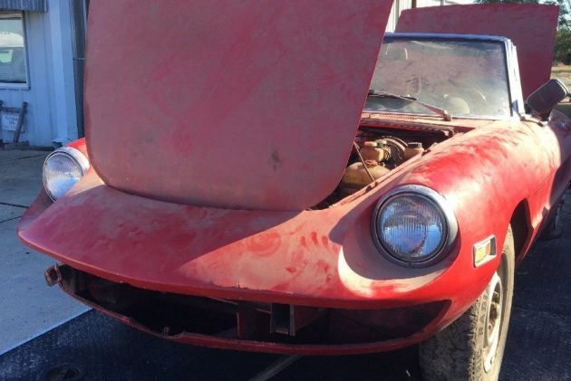 I Spy A 1973 Alfa Spider Barn Find Beauty