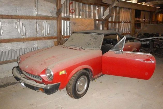 Might Not Break The Bank: 1977 Fiat 124
