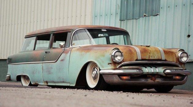 How Low Can You Go? 1955 Pontiac Custom Wagon