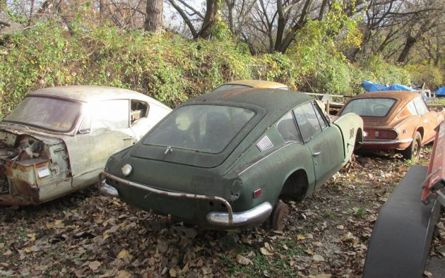 Triumph GT6 Stash Coming To Auction!