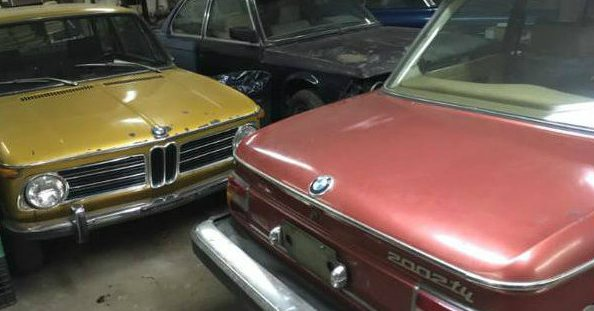 Tii Warehouse Find: 1972 and 1974 BMW 2002s