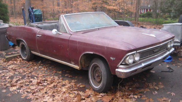 Drop Top 4-Speed: 1966 Chevrolet Chevelle