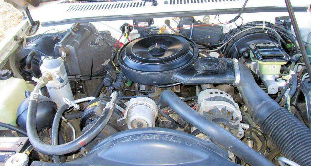 Chevy Blazer Engine Bay E X on Chevy 4 3l V6 Engine
