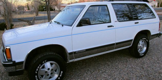 Old Lady Owned: 45K Mile 1991 Chevy Blazer