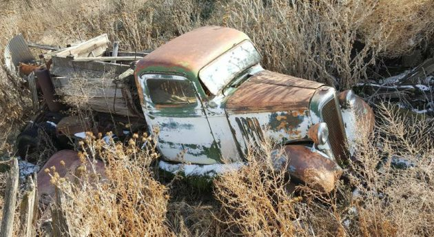 Outlived the Barn: 1936 Chevy Pickup