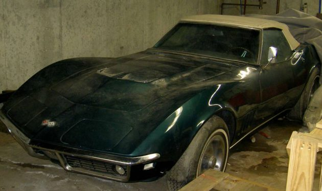 Transmission For Sale >> 427 Barn Find: 1968 Corvette Convertible