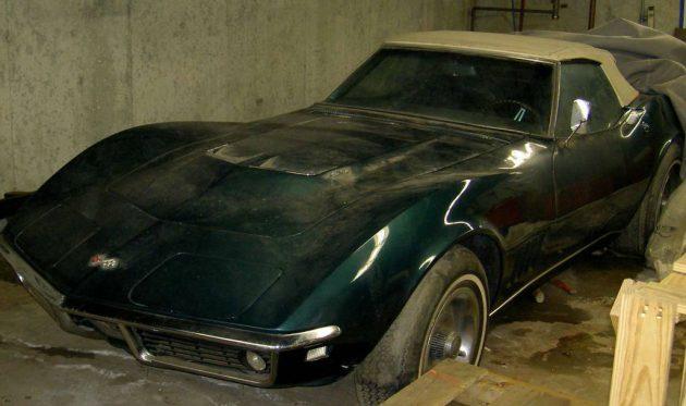 427 Barn Find 1968 Corvette Convertible