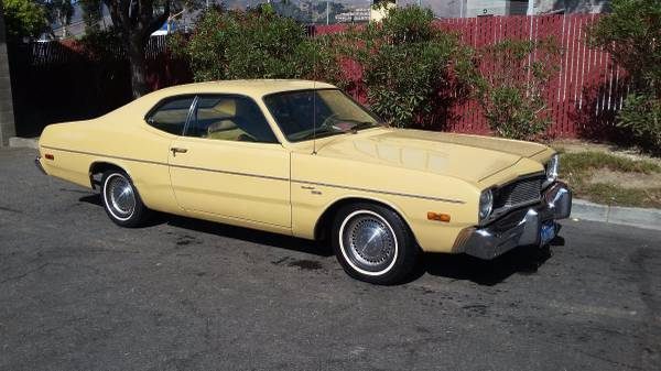 2017 Dodge Dart >> Rust-Free Survivor: 1974 Dodge Dart Sport