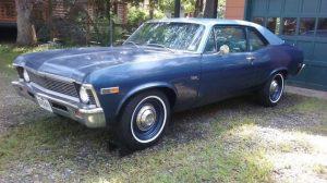 1969 Chevrolet Nova 40k Mile Survivor (eBay)