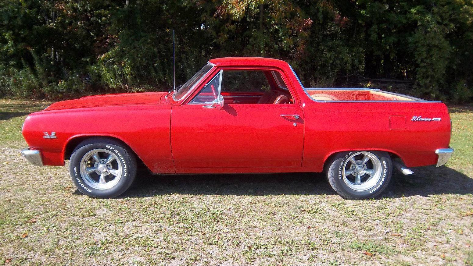 Short Bed Truck >> Abbreviated! Shorty 1965 El Camino