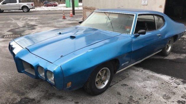 Barn Find 4-Speed: 1970 Pontiac GTO