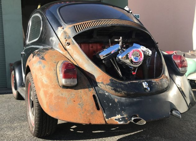 Harley-Powered: 1968 Volkswagen Beetle