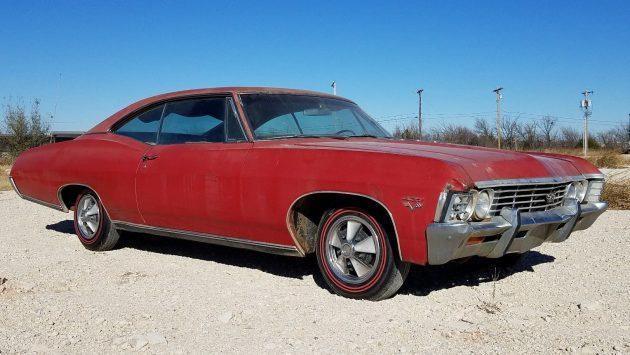 No Repaints: 1967 Chevrolet Impala SS 427
