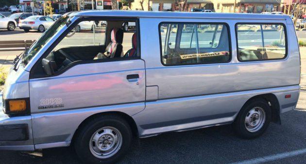 Camper Inspiration: 1989 Mitsubishi Van