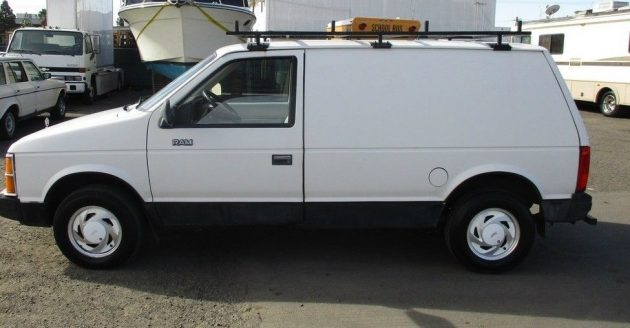 Minivans For Sale >> Rare Worker Edition: 1986 Dodge Mini Ram Van