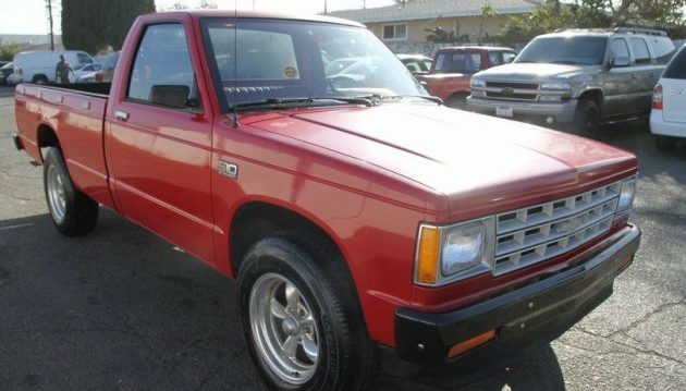 no reserve survivor 1986 chevy s10 pickup