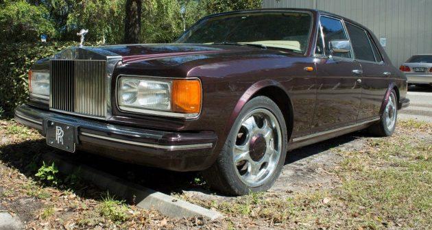 purple parts car: 1984 rolls-royce silver spur