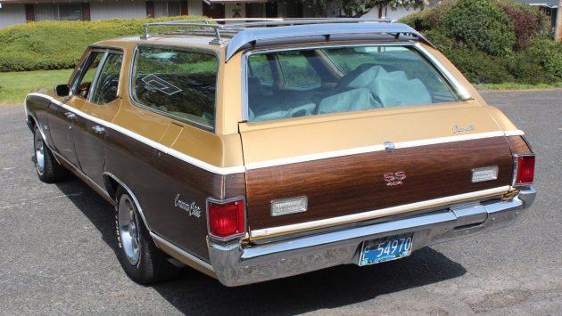 Woodgrain Estate: 1970 Chevelle Concours Wagon