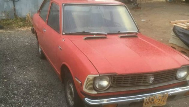 Early Model Desert Find: 1974 Toyota Corolla