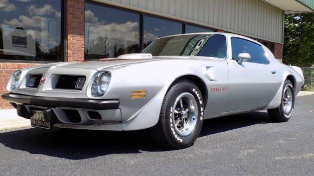 Not Quite Original: Low-Mileage 1975 Pontiac Trans Am