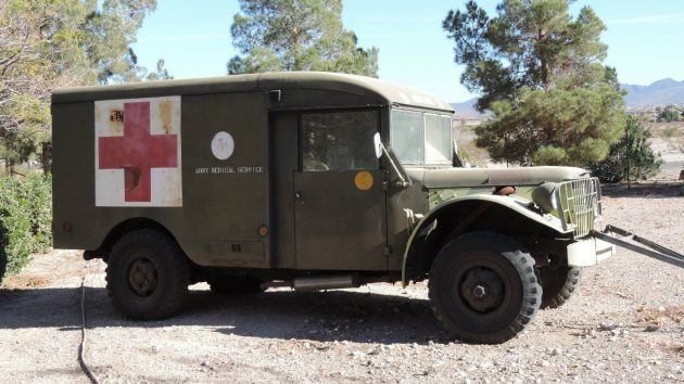 M*A*S*H Anyone? 1953 Dodge Ambulance