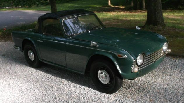 Stored For 42 Years 1967 Triumph Tr4a