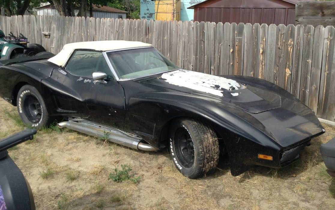 Holy Widebody Batman! 1972 Chevrolet Corvette
