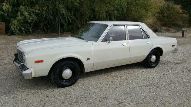 'Fridge White Vanilla Sedan: 1978 Dodge Aspen