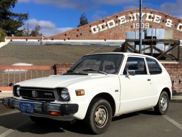 Hondamatic Hooligan: 1978 Honda Civic