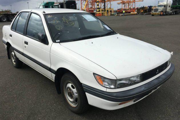 1990 Mitsubishi Mirage 4WD 5-Speed Diesel