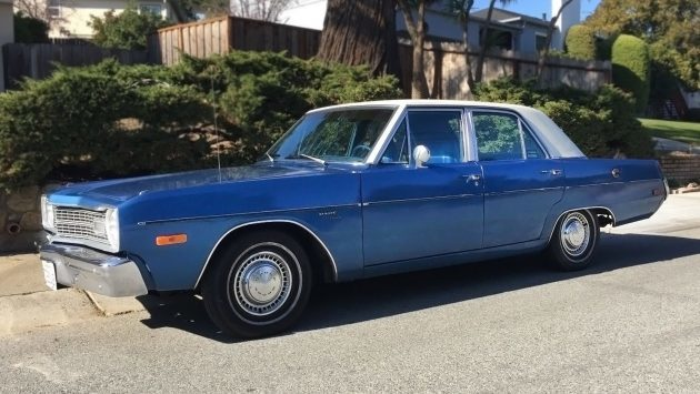 Moving, Must Sell: 1973 Dodge Dart