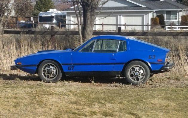 True Blue Swede 1974 Saab Sonett Iii