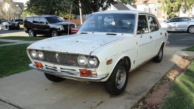 Rare Rotary Project: 1972 Mazda RX-2