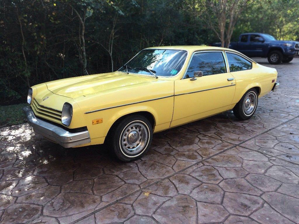 Mellow Yellow: 1977 Chevrolet Vega