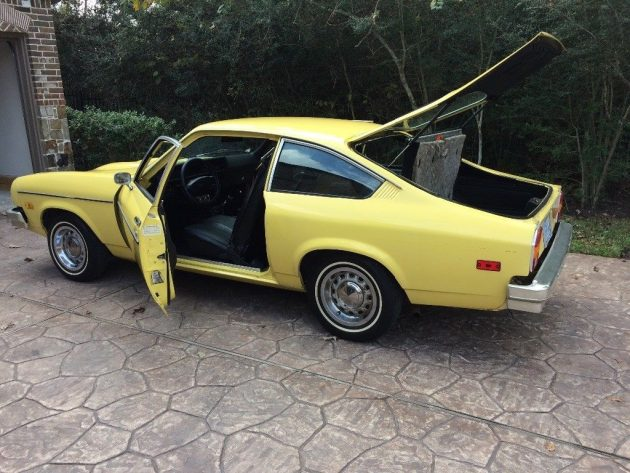 Mellow Yellow 1977 Chevrolet Vega