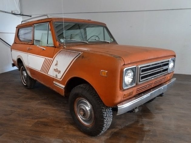 IH Engineer Owned: 1978 International Scout II