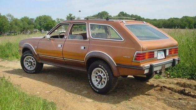 4WD Limited: 1985 AMC Eagle Wagon