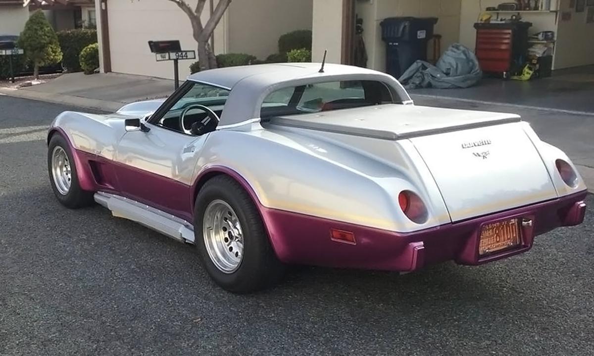 Haulin' Hauler! 1979 Chevrolet Corvette Pickup