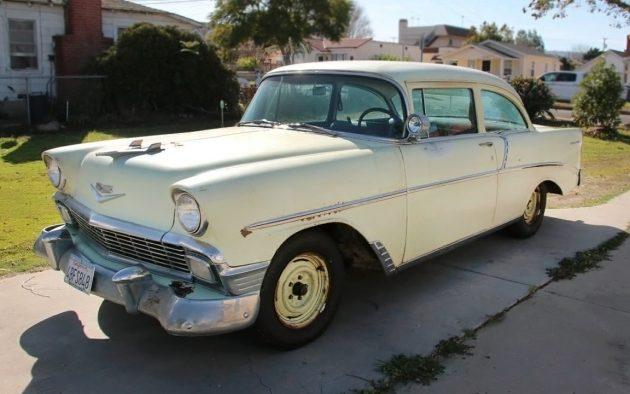Original Paint 1956 Chevrolet 210 Delray Coupe