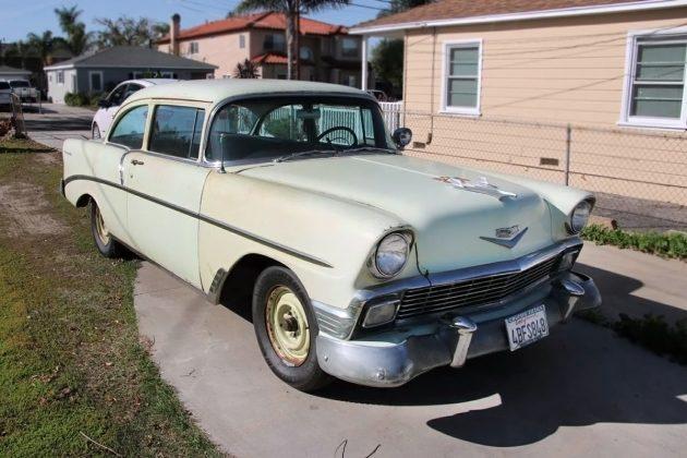 Original Paint? 1956 Chevrolet 210 Delray Coupe