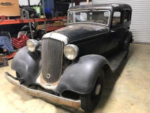 A True Barn Find: 1933 Plymouth Sedan