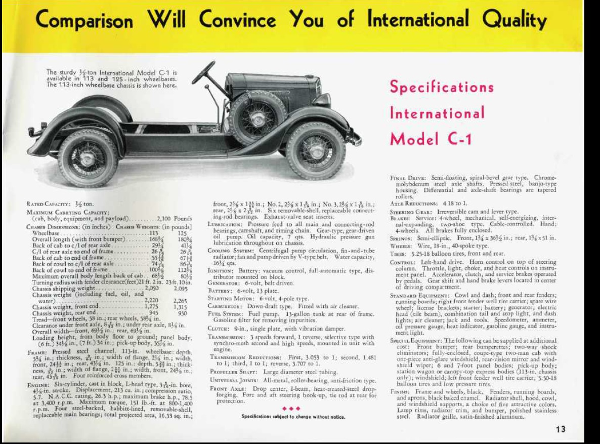 Special Delivery: 1934 International Mail Truck