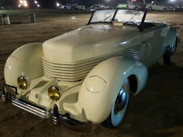 sitting in the rain 1936 cord sportsman 1929 Cord at 1936 Cord Wiring Diagram