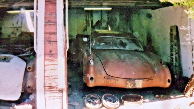 Needs To Be Restored: 1957 Corvette Fuelie