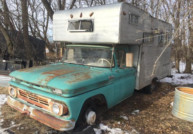 Memory Maker: 1964 Chevrolet Pickup Camper