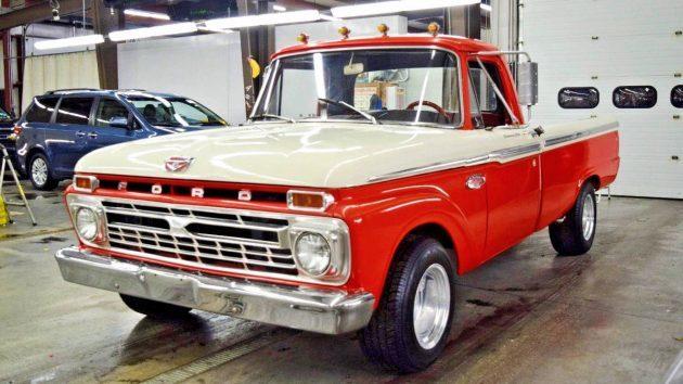 Big Block Power: 1965 Ford F100 Custom Cab