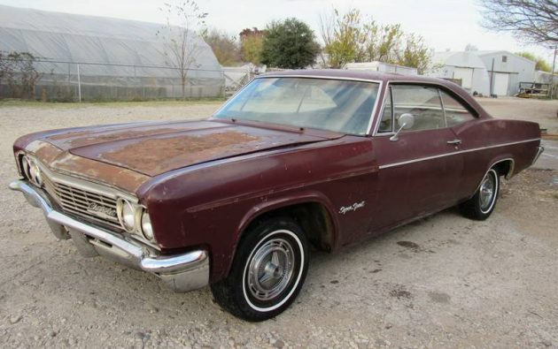 Craigslist Com Houston >> 1966 Chevrolet Impala SS - Parked in 1993!