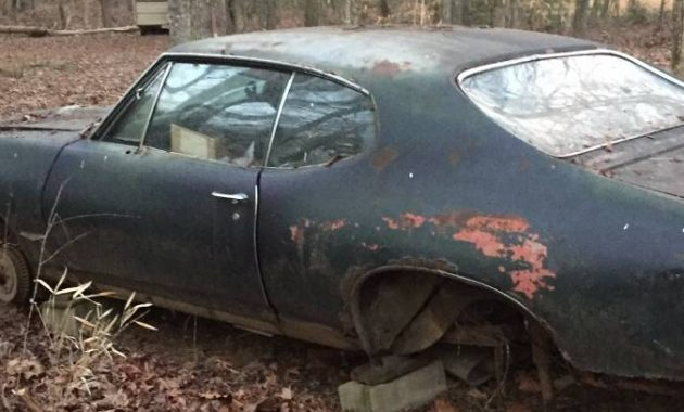 Forest Find! 1968 Pontiac GTO Project