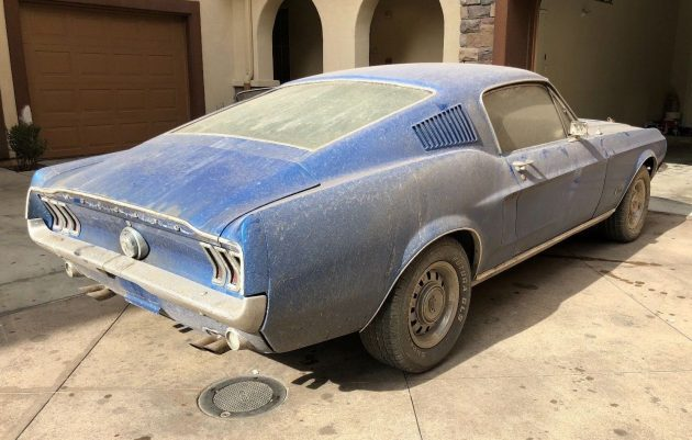 Dirty Pony: 1968 Ford Mustang Fastback