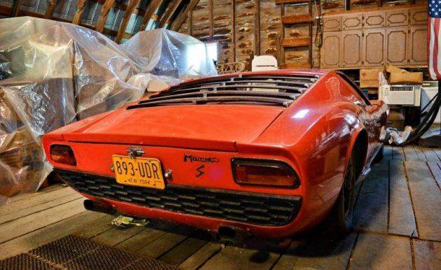 Lamborghini Barn Find 1969 Miura P400 S